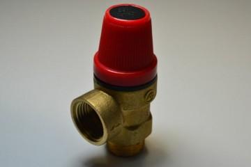 黄铜锻压内外丝扣阀 太阳能热水器安全