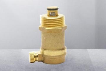 暖气管道水管放气阀 黄铜自动排泄气阀